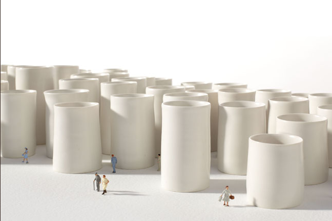 cup, town, ceramics, porcelain