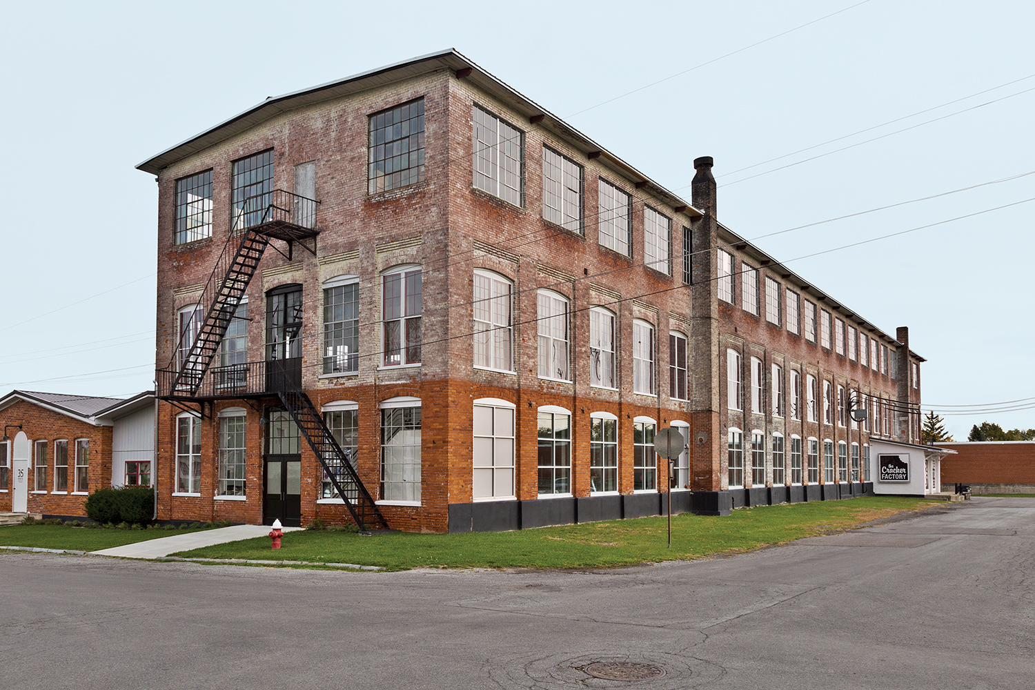 Phillips 19th-century factory exterior