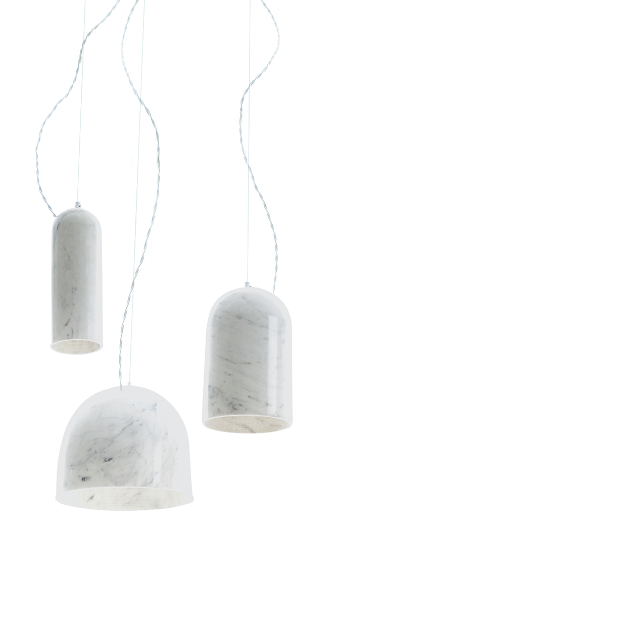 quarry lamps benjamin hubert