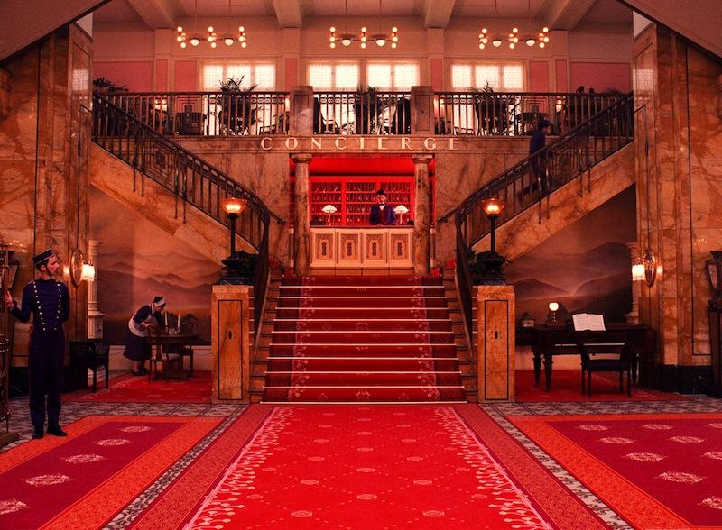 Grand Budapest Hotel Lobby
