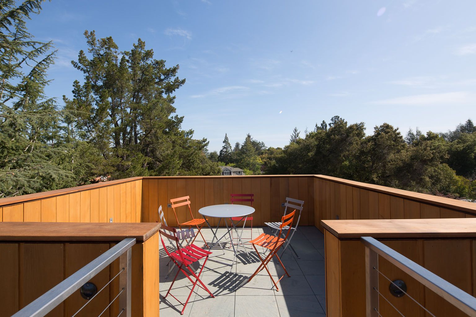 green sustainable residence roof deck