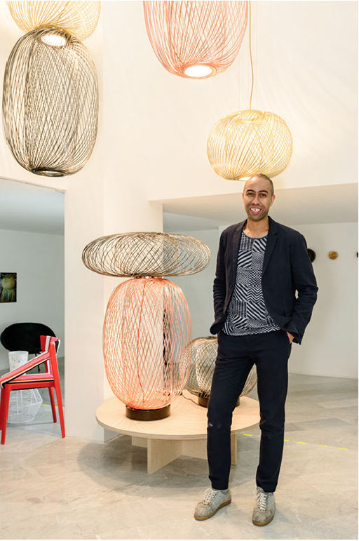 Stephen Burks Anwar LED lighting Parachilna Man Made Dwell