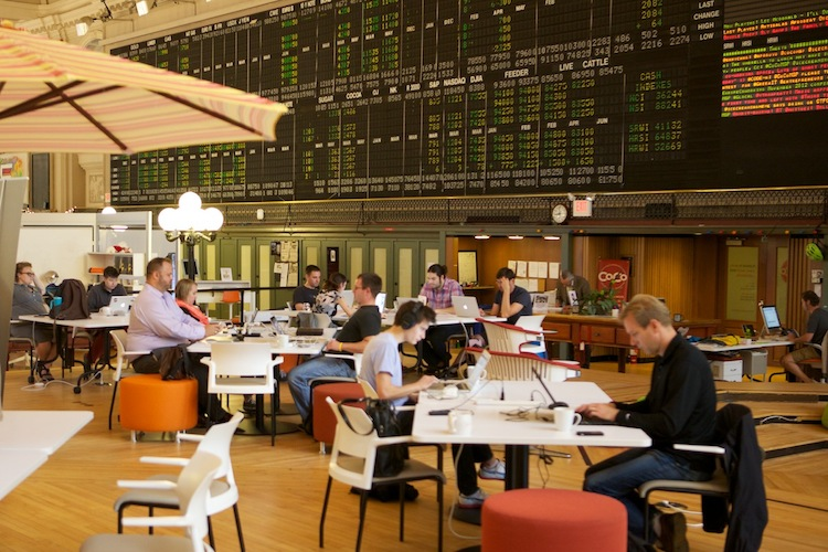 Hub for entrepreneurship and enterprise in downtown Minneapolis