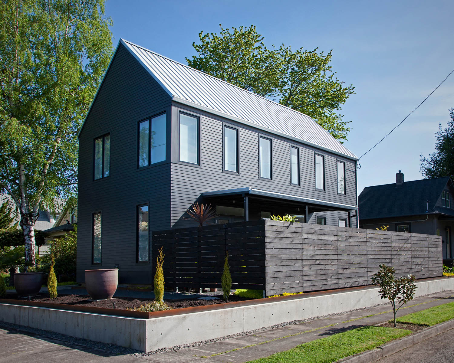 A gabled house in Portland, Oregon