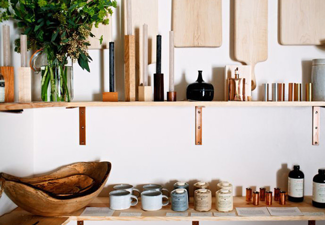 Modern design wares at the Field + Supply fair