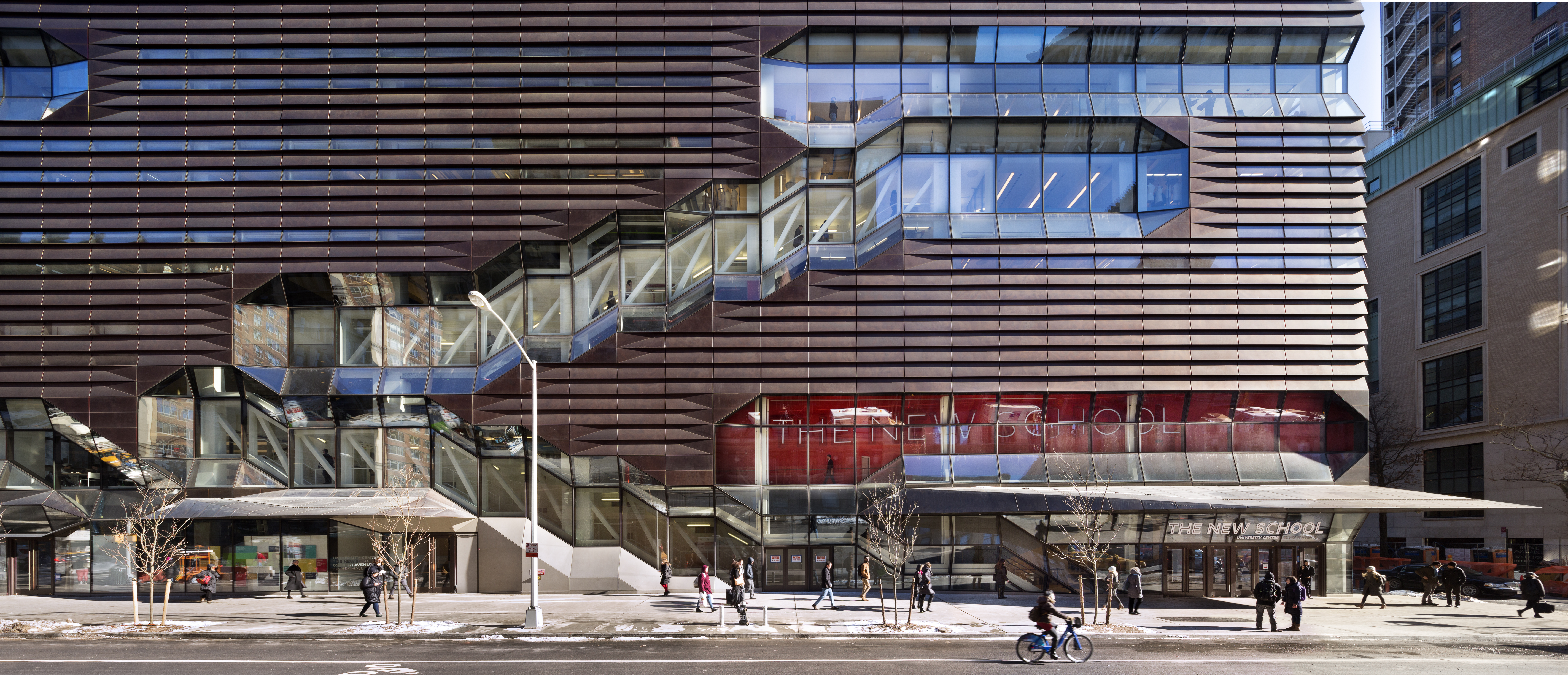 University Center, The New School by Skidmore, Owings & Merrill