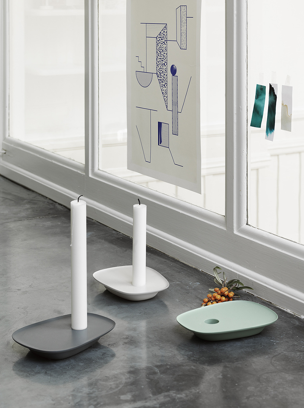 Float candlesticks by Anderssen & Voll for Muuto