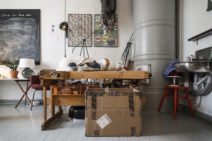 Finnish Designer Katriina Nuutinen's Studio