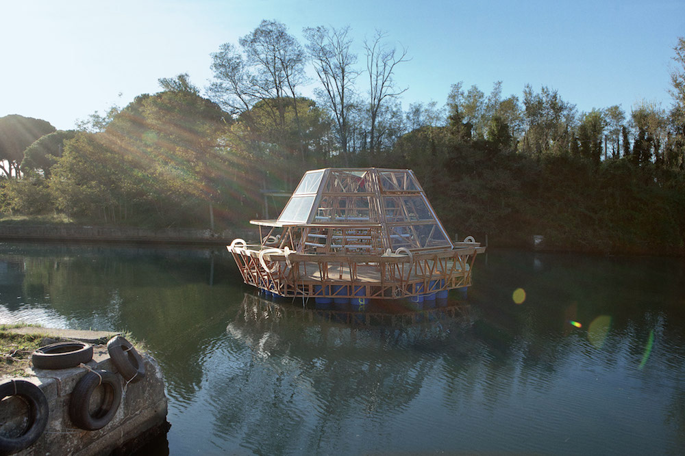Jellyfish Barge Floating Greenhouse