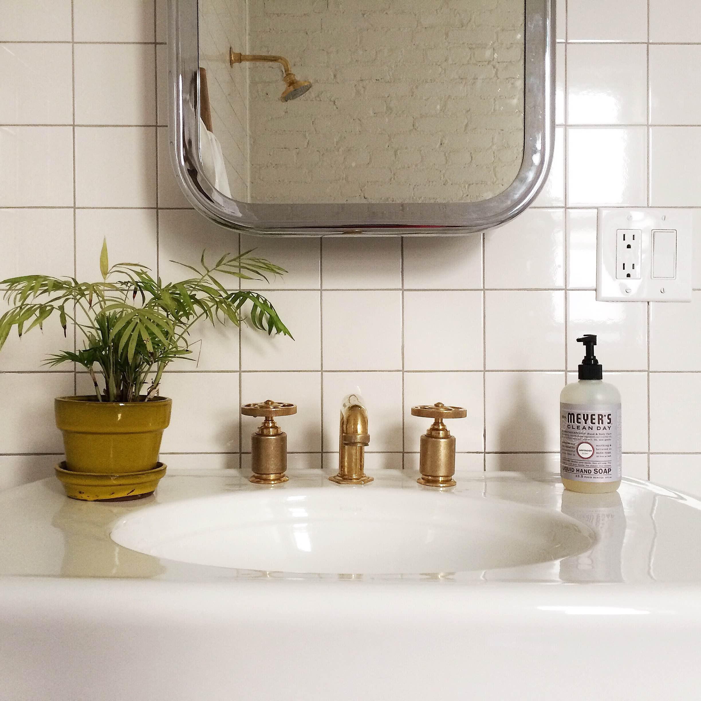 brass bathroom hardware roman williams