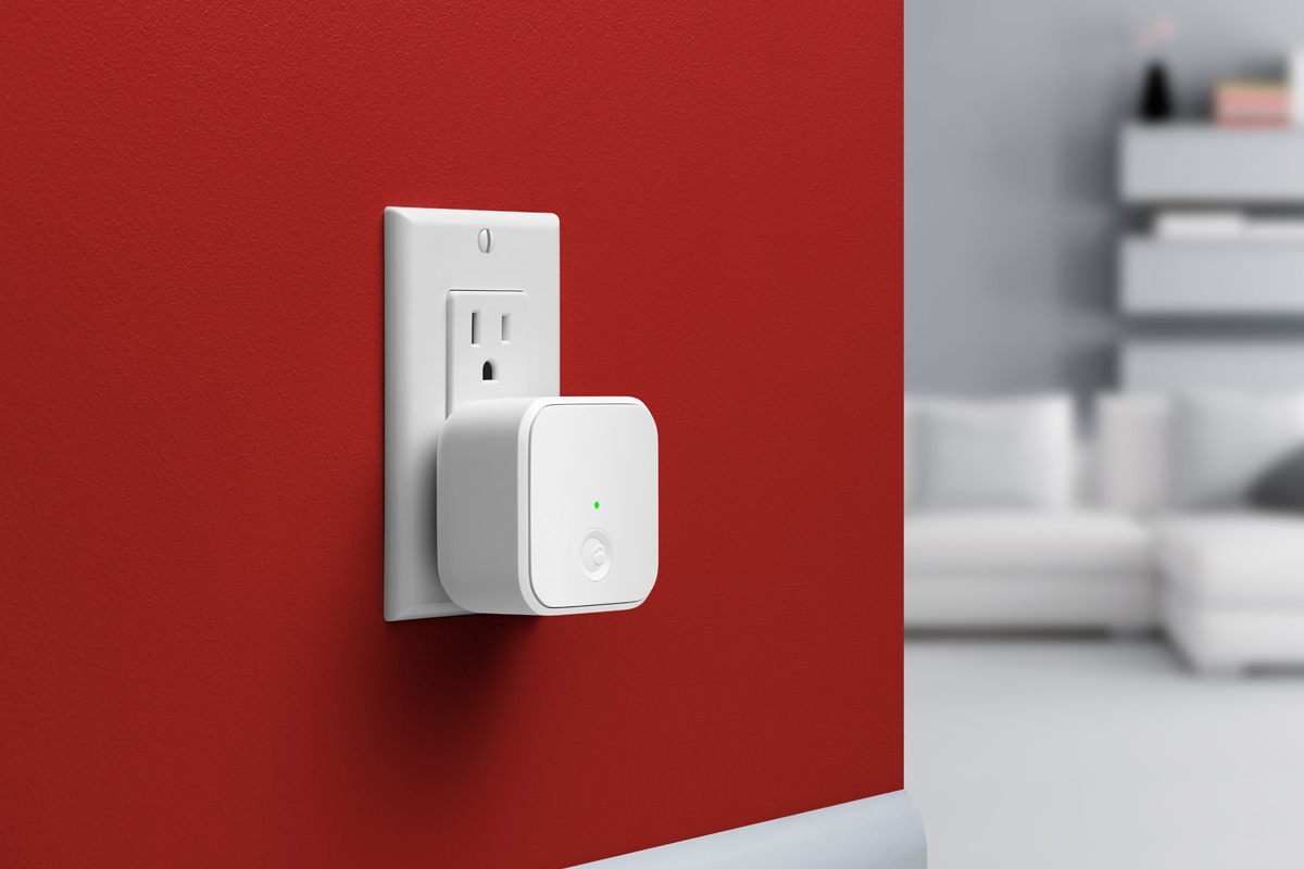 August Connect home automation wifi device by Yves Behar