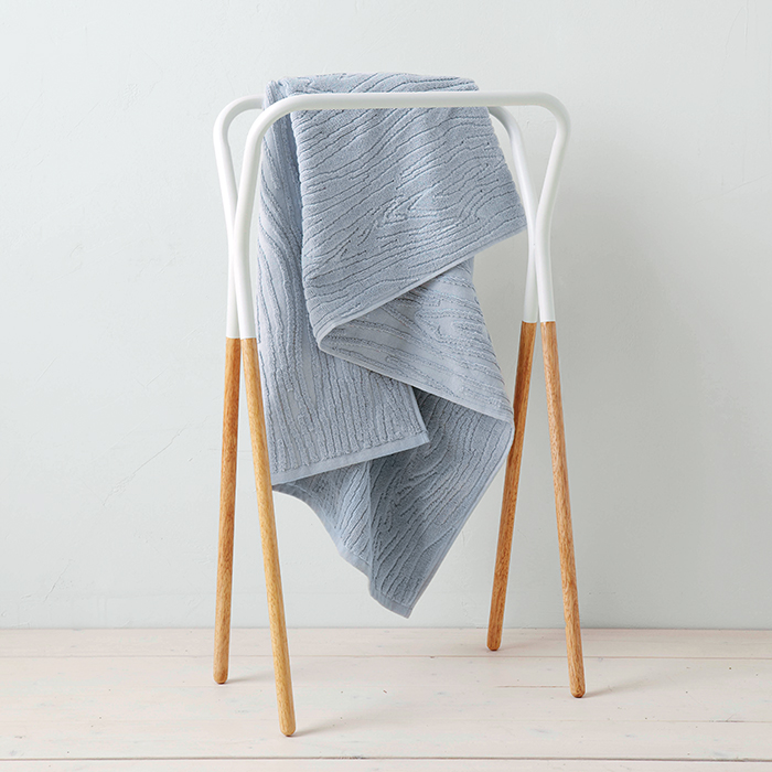 Two-Tone Towel Rack by West Elm