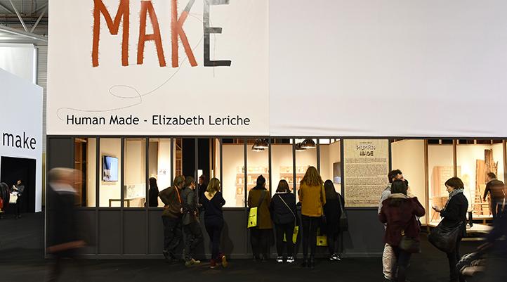 Elizabeth Leriche Human Made exhibition at Maison Objet 2015