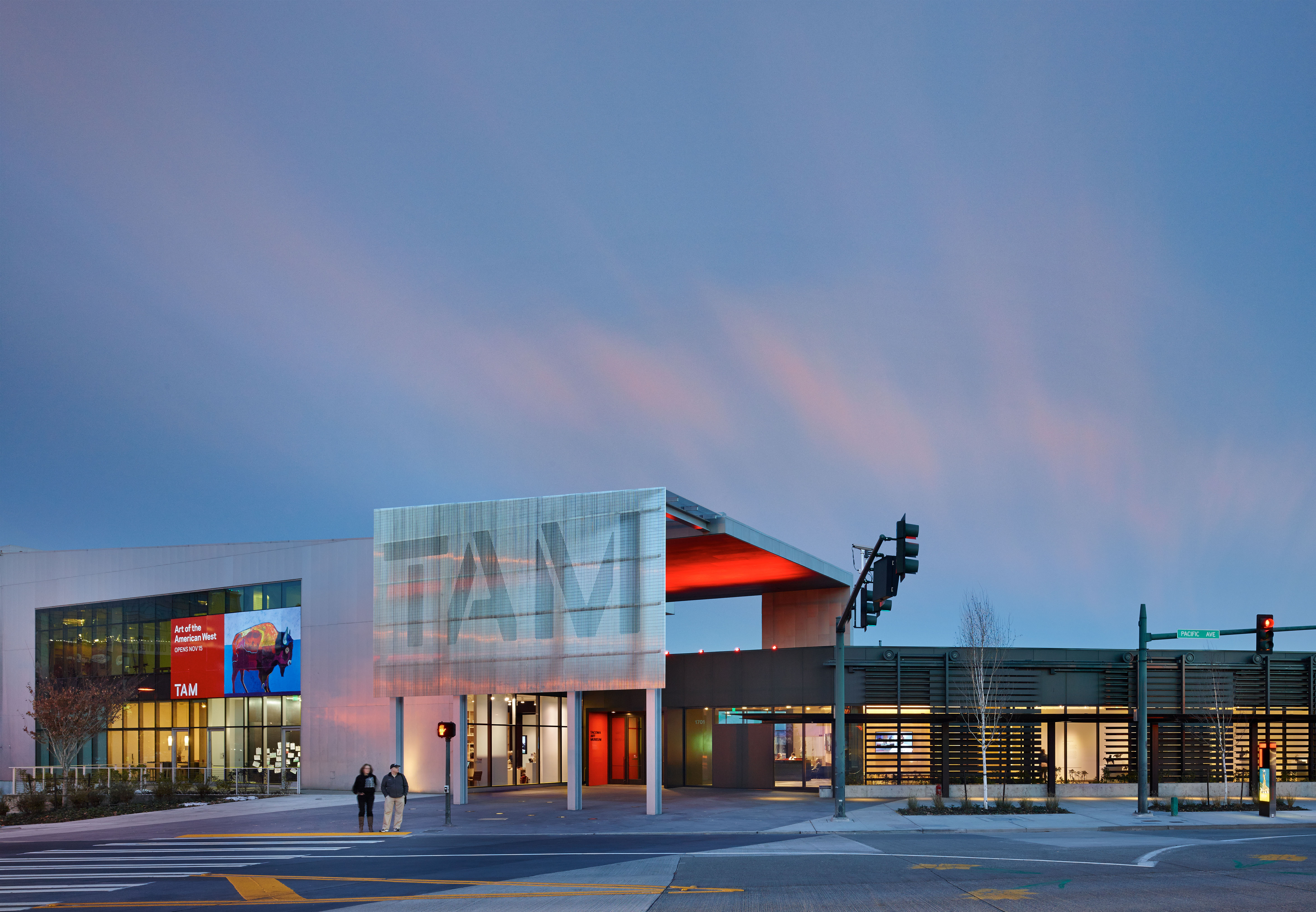 Haub Family Galleries, Tacoma Art Museum, by Olson Kundig Architects