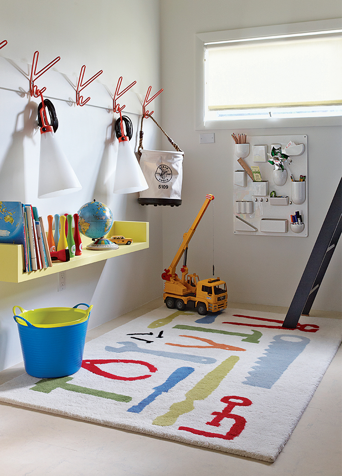 Kids' playroom in Fire Island