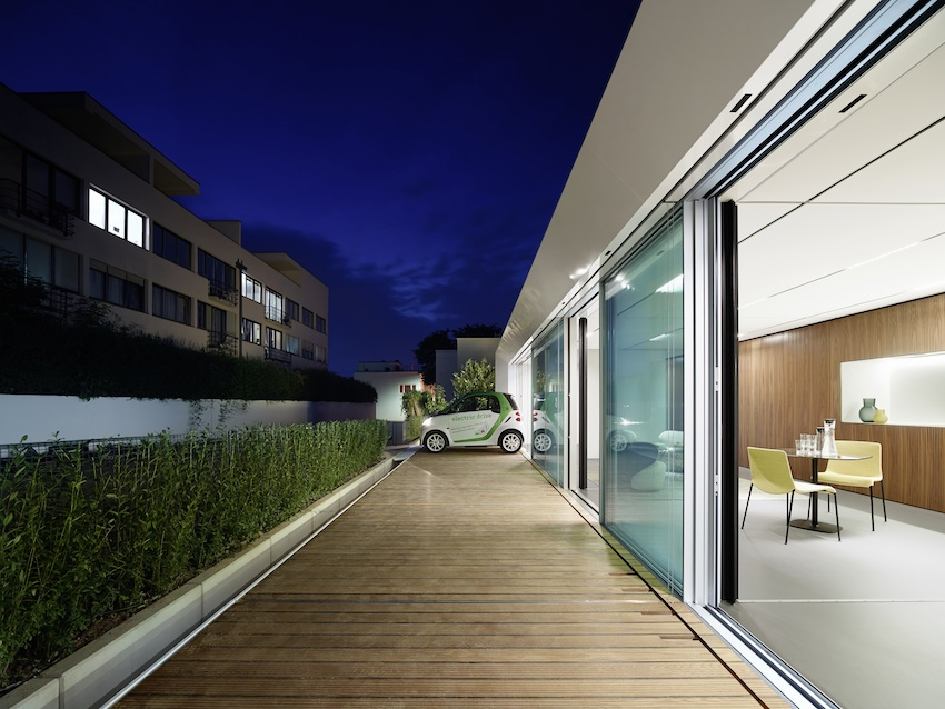 Active House B10 Prefab Prototype in Stuttgart