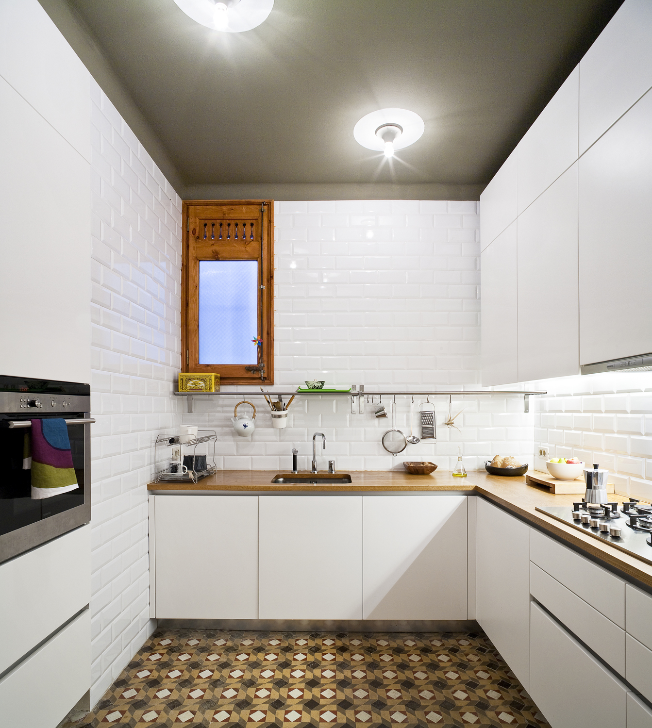 Barcelona Flat Kitchen