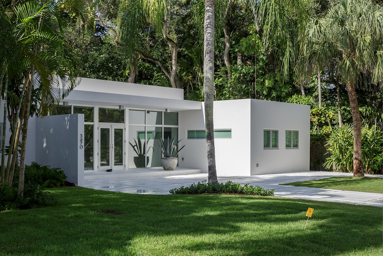 Moorings residence exterior.