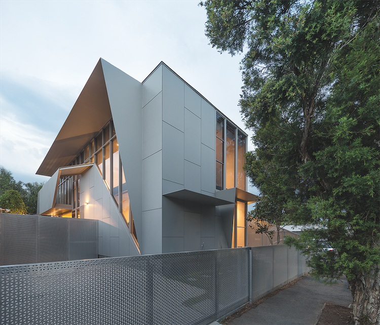 Melbourne Bike House Exterior Facade