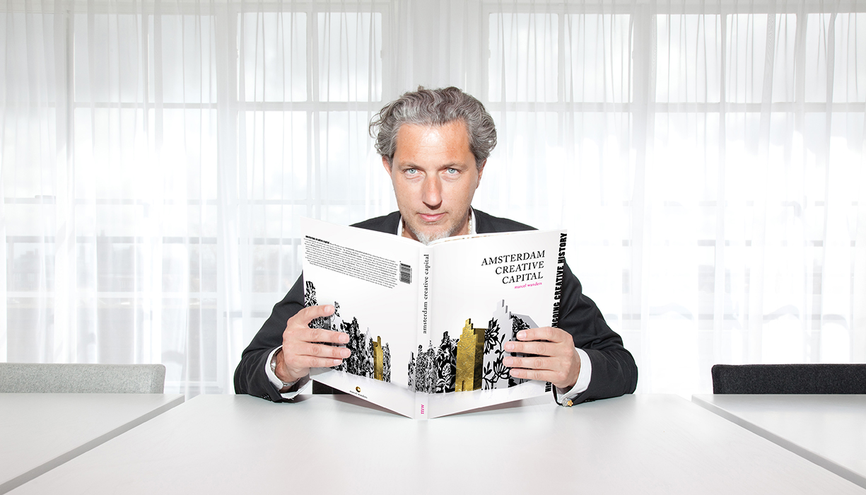 Moooi co-founder and 2015 Dwell on Design keynote speaker Marcel Wanders.
