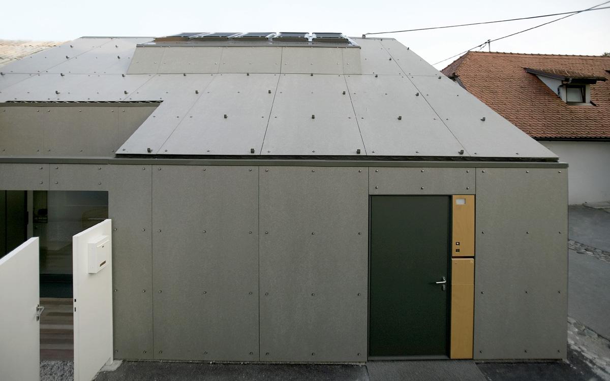 Ljubljana Micro House Exterior Roof
