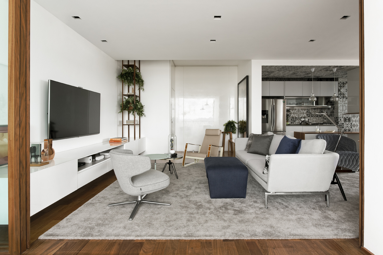 São Paulo apartment living room