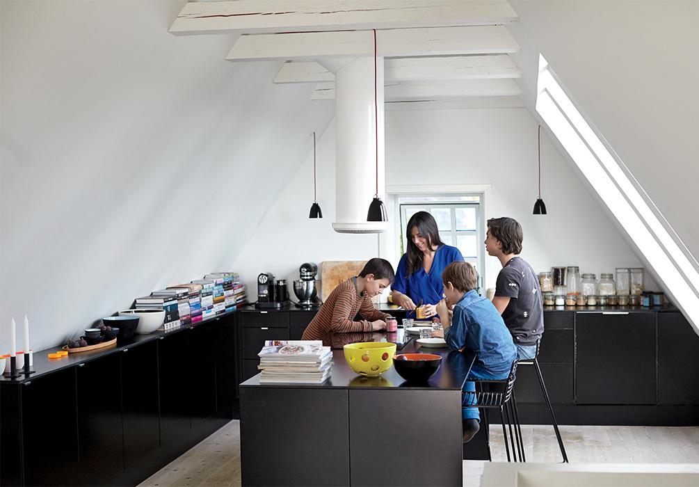 Copenhagen renovation kitchen.