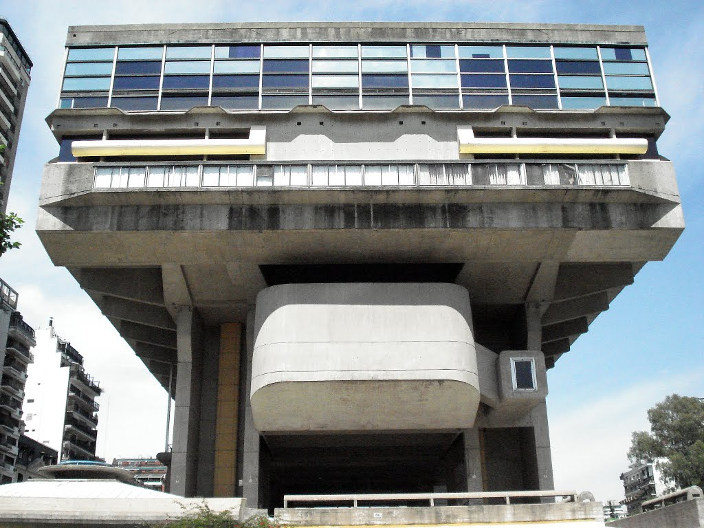 Biblioteca Nacional in Barrio Norte, Buenos Aires, Argentina