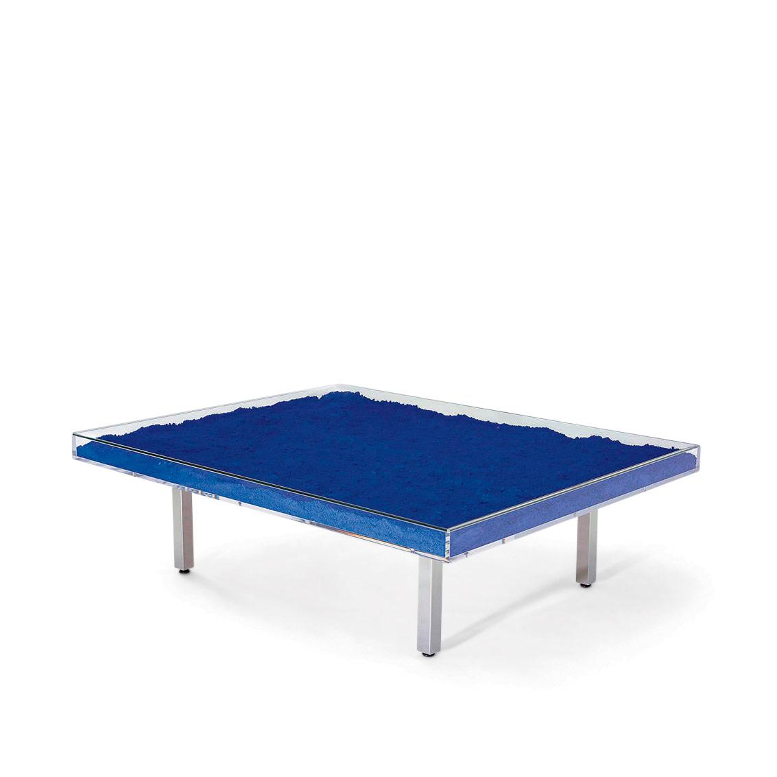 Table Bleue by Artist Yves Klein