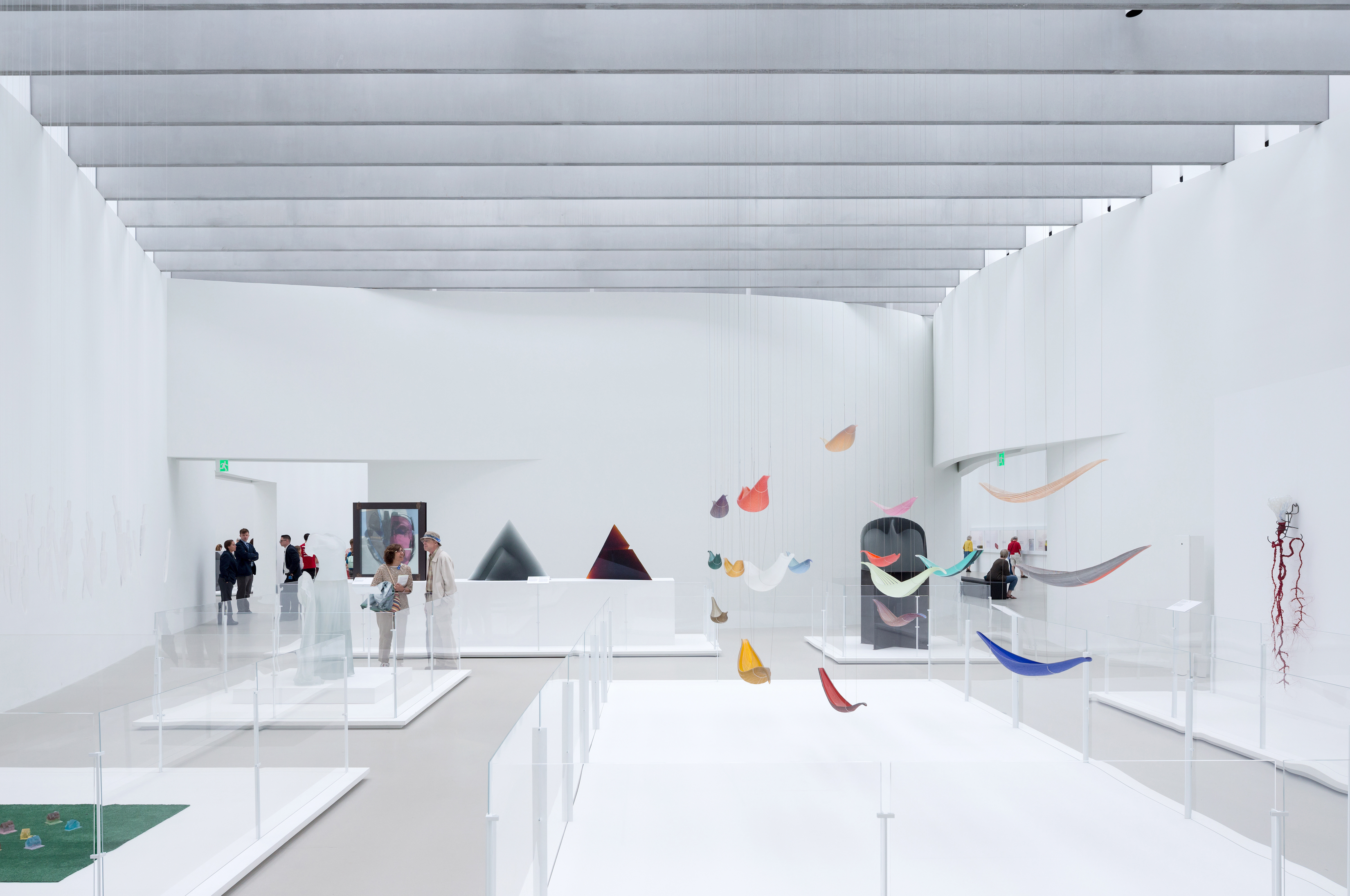 View of the Contemporary Art + Design Wing at the Corning Museum of Glass