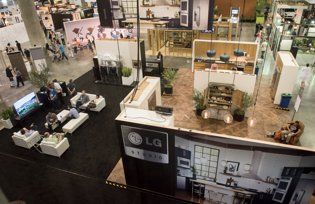 The LG Studio Re-Imagination Pavilion at Dwell on Design Los Angeles 2015.