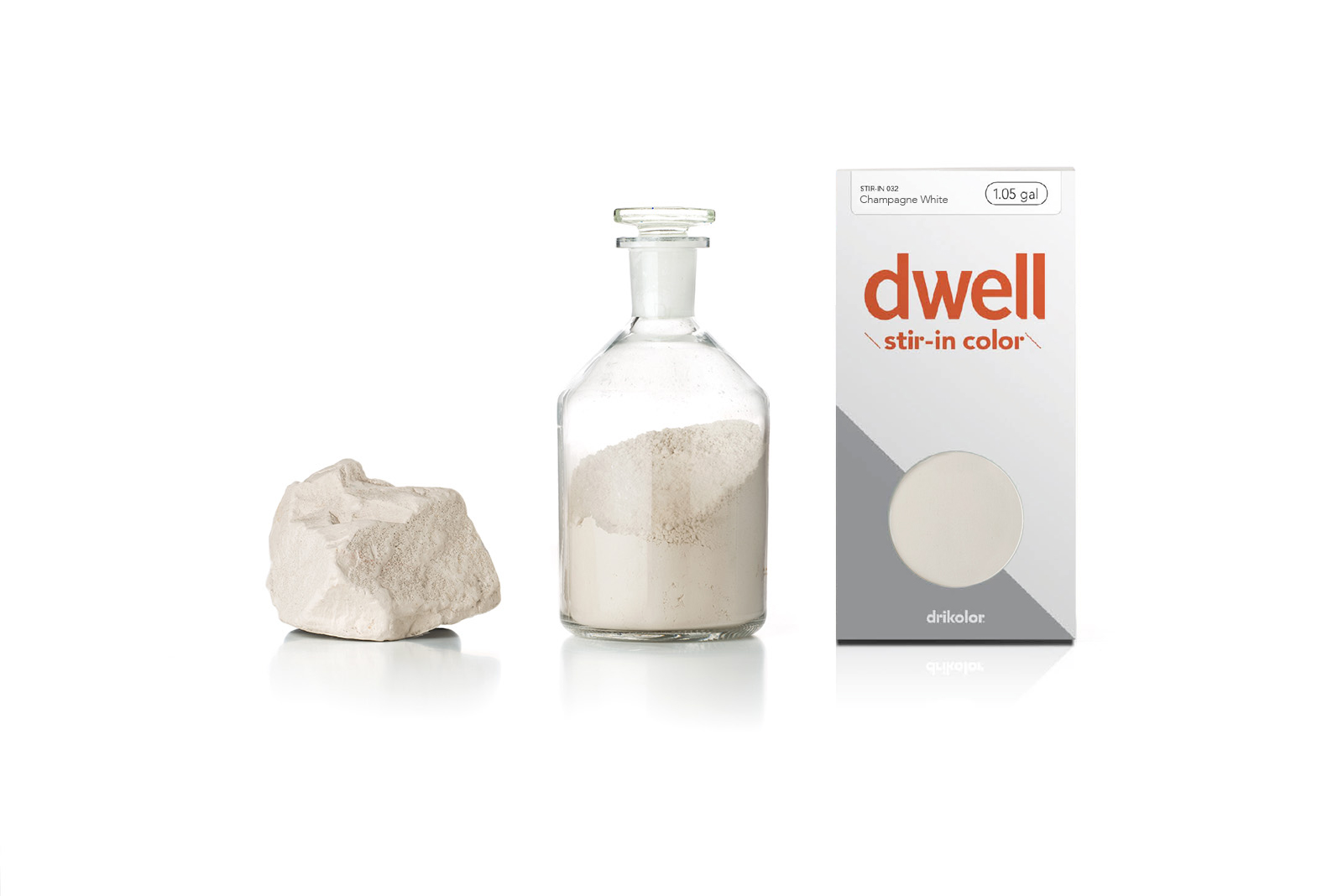 Dwell stir in product with sample pigment