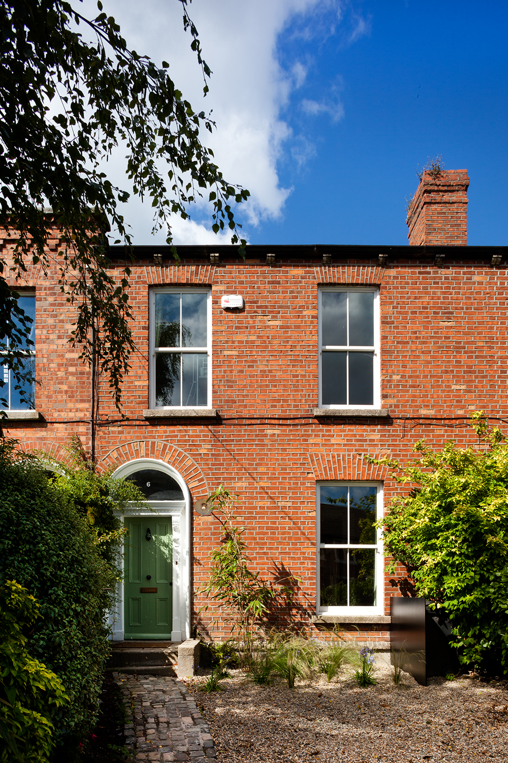 Dublin Victorian Extension exterior facade from the street