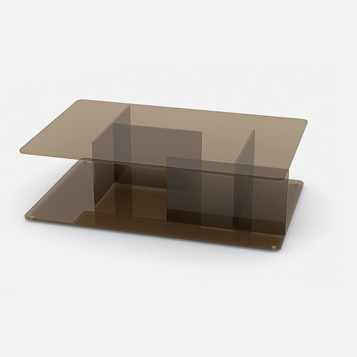 modern furniture design earth tones lucent coffee table case