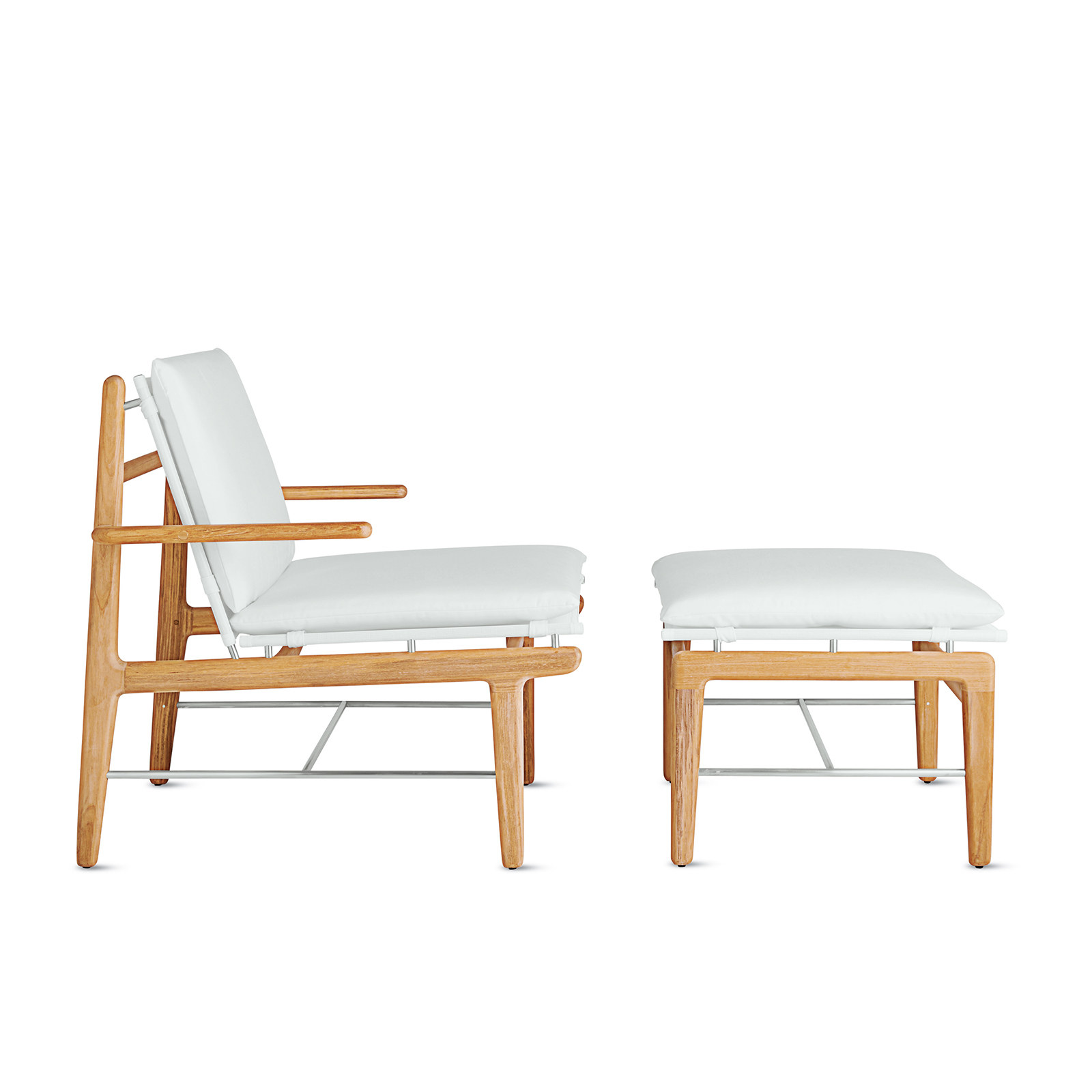 finn lounge chair ottoman dwr norm