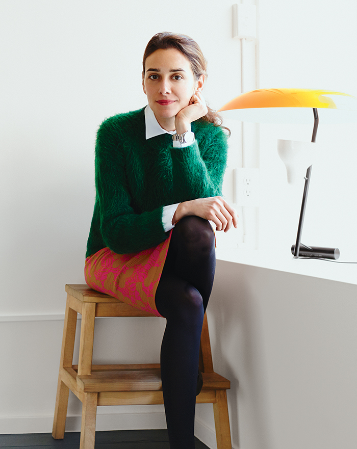 q&A with Modern design leaders like Ambra Medda of L'ArcoBaleno portrait