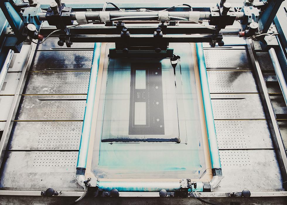 McIntosh Laboratory factory screenprint face plates