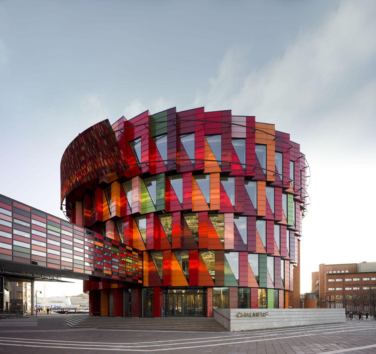 Kuggen, University Hub at the Chalmers Campus Lindholmen