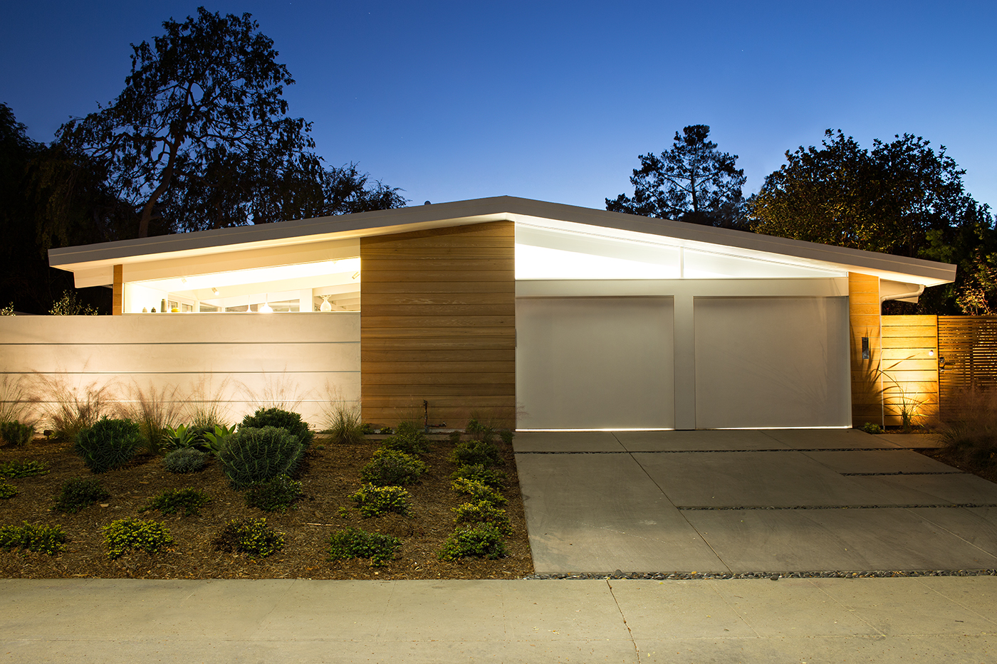 Palo Alto Eichler Renovation street view