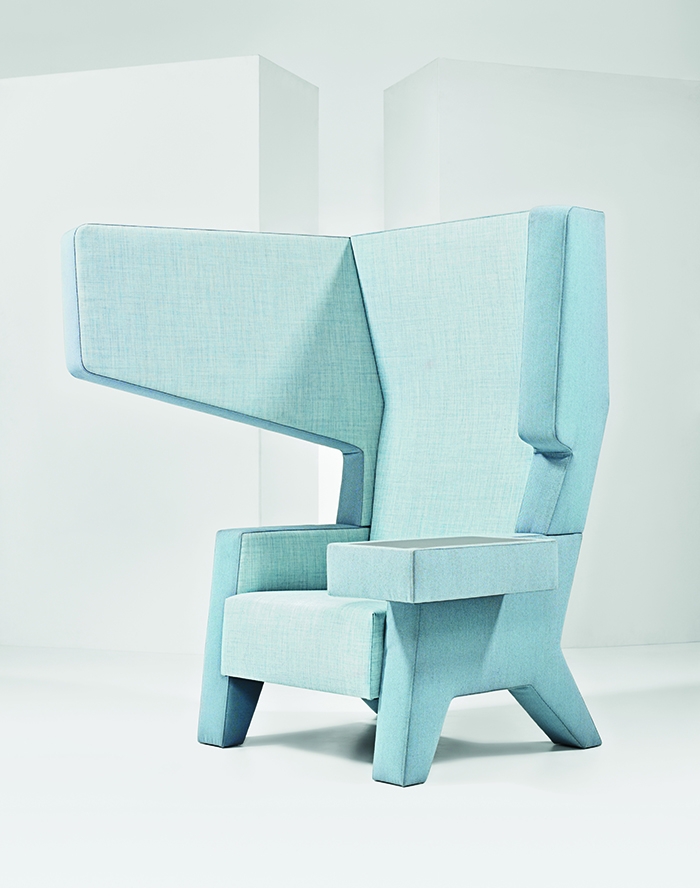 modern workplace furniture Mikkink & Bey ear chair