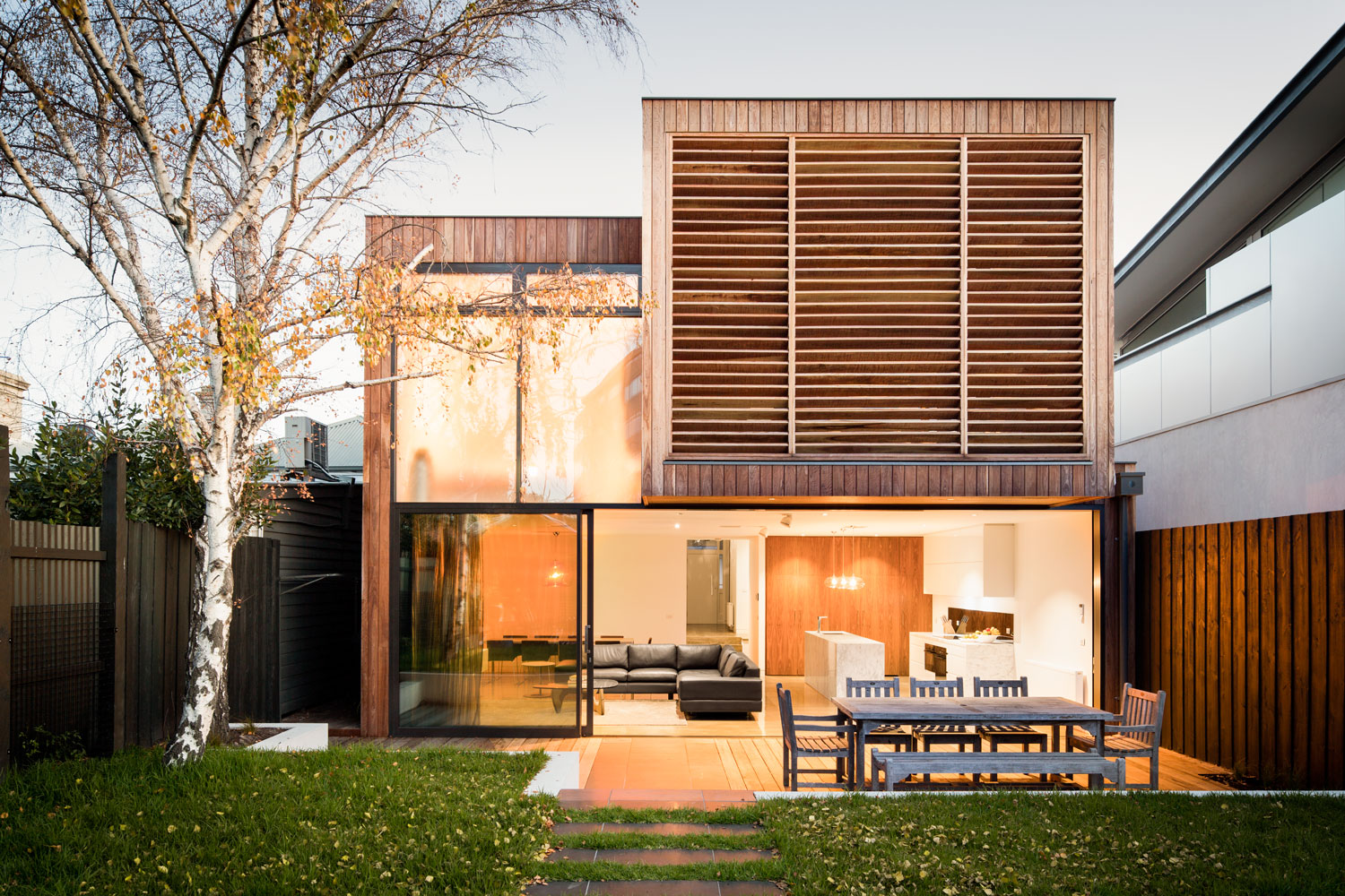 Melbourne Middle Park House Rear Addition exterior