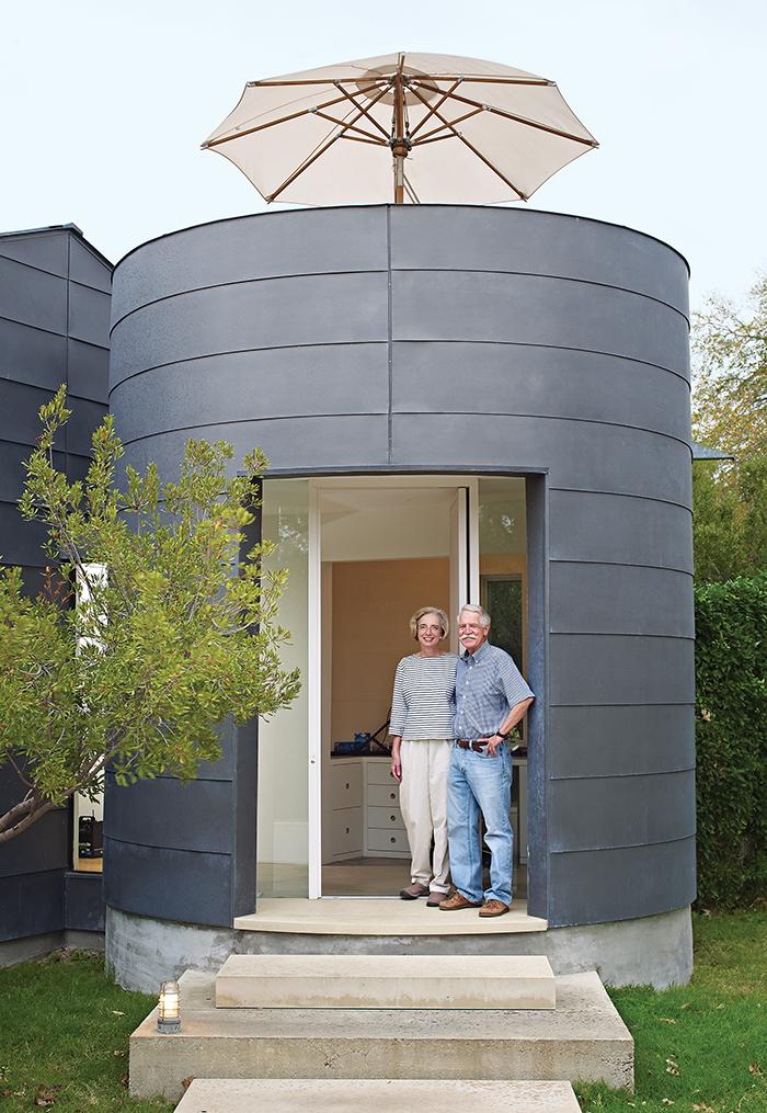 modern vanguard way martini deck cylindrical entry galvanized steel