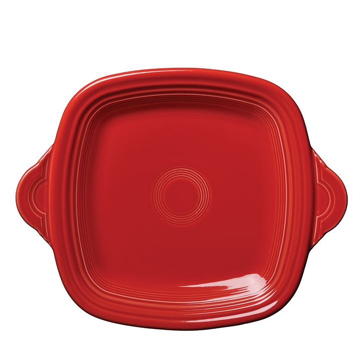 modern made in america products USA southeast fiestaware square serving tray