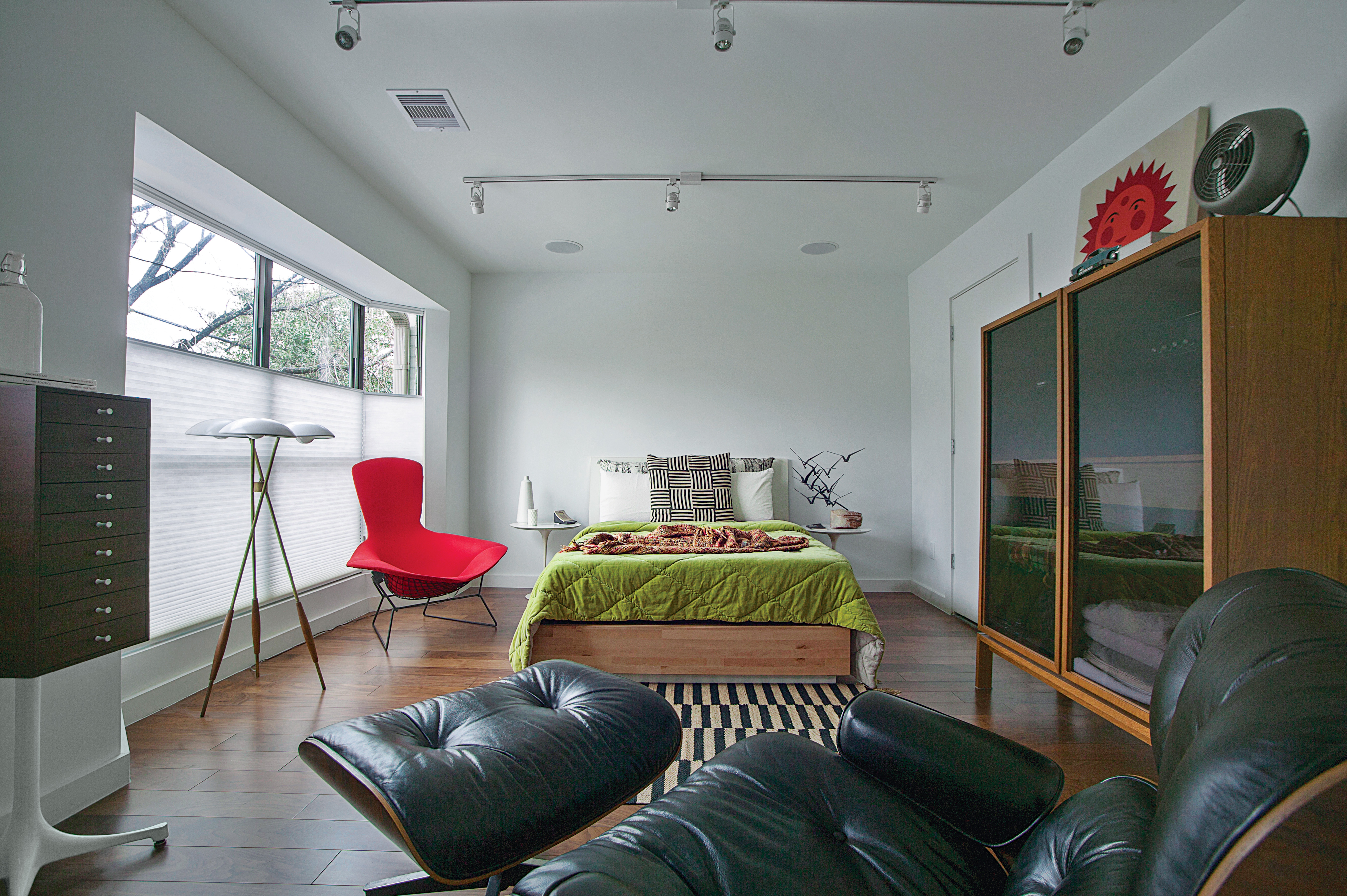 Stanford Street townhouse bedroom renovation