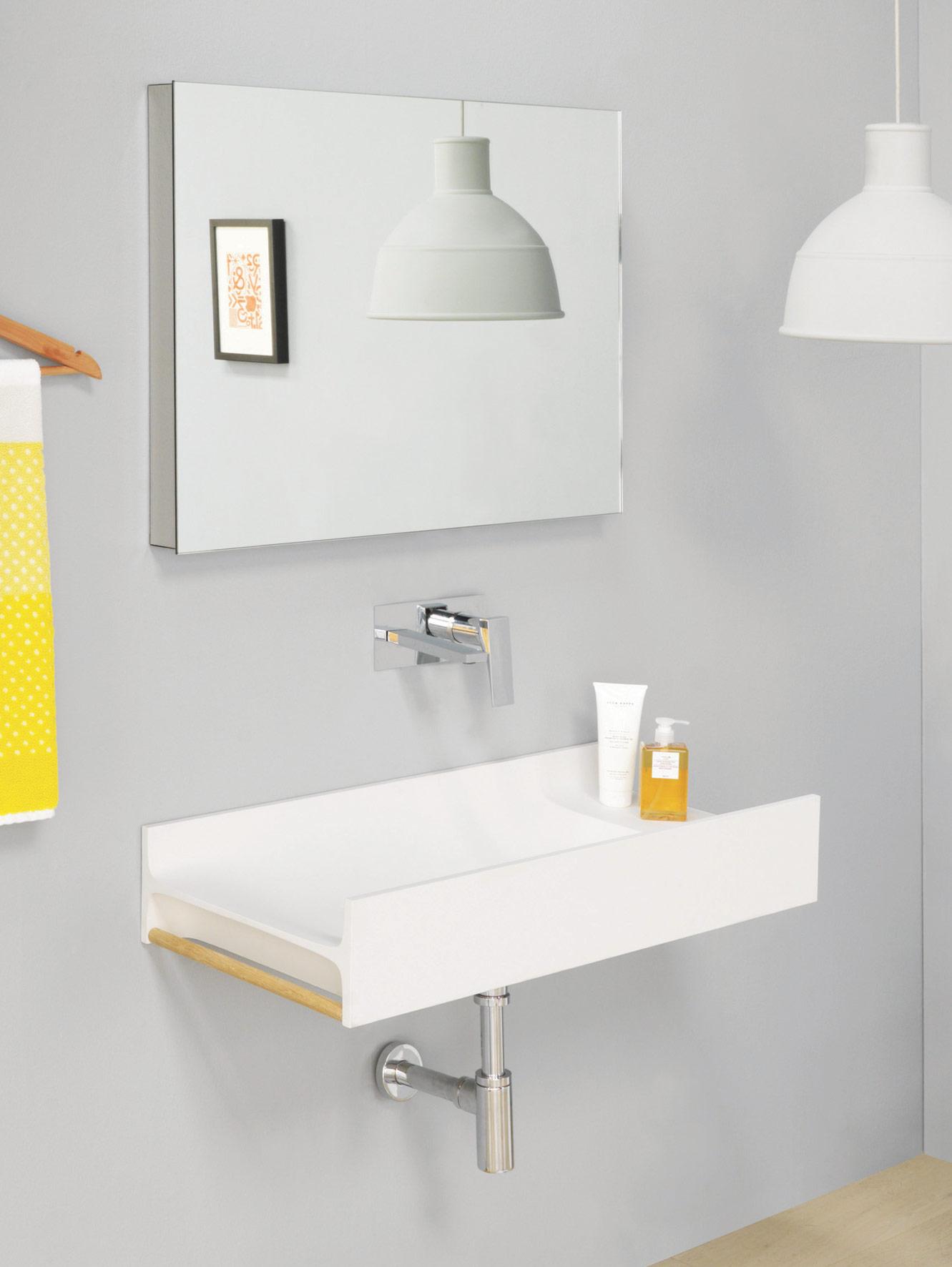 TT washbasin by Meneghello Paolelli Associati for The.Artceram