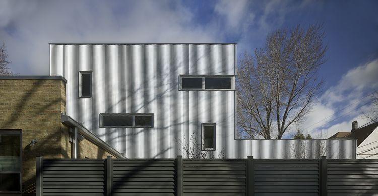 Loft house exterior