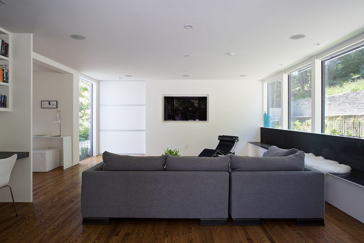 Orinda addition living room