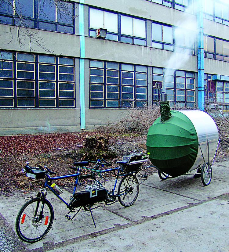 Bicycle Sauna