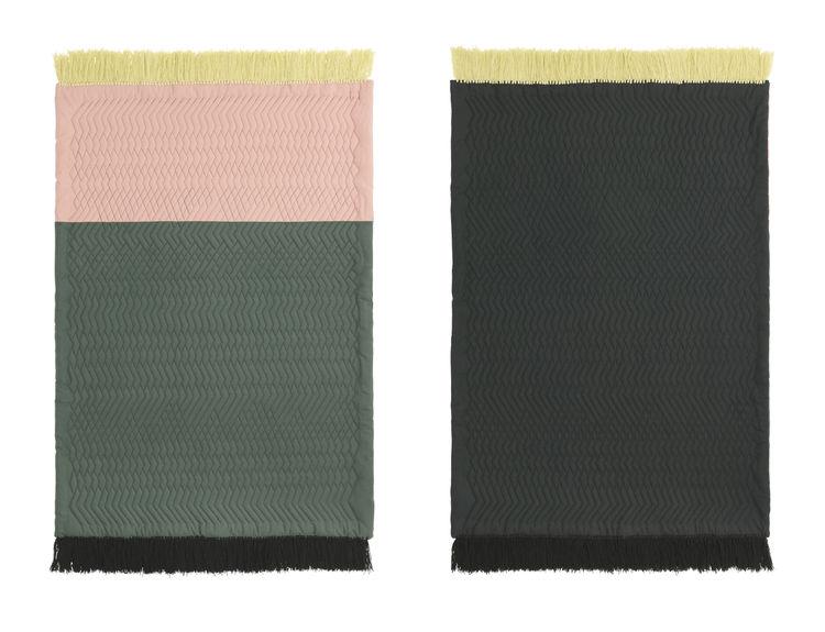 Rose/sand rug for Normann Copenhagen