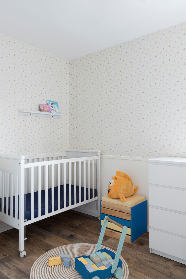 A renovation in Israel also includes a nursery.
